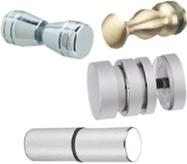 Shower Door Knobs & Door Pulls