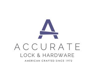 "Accurate 2001ADAP515 ADA Sliding Door Privacy Hardware Set with 2-1/2"" Backset Satin Nickel Finish"