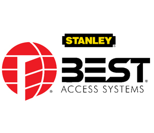 "Stanley Best 21B780L606 5/16"" Brass Padlock 7 Pin 4"" Shackle Non-Key Retained Satin Brass Finish"