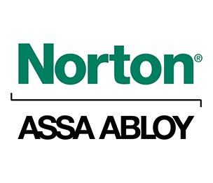 Norton 5811NPB689 ADAEZ Pro Narrow Style Pull Side Operator with Push Buttons Aluminum Finish