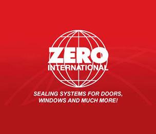 "Zero 39A42 42"" Perimeter Seal Door Sweep Aluminum Finish"
