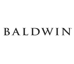 Baldwin Prestige 351TBLRDB16BRH Half Dummy Tobin with Round Rose Right Hand Slate Finish